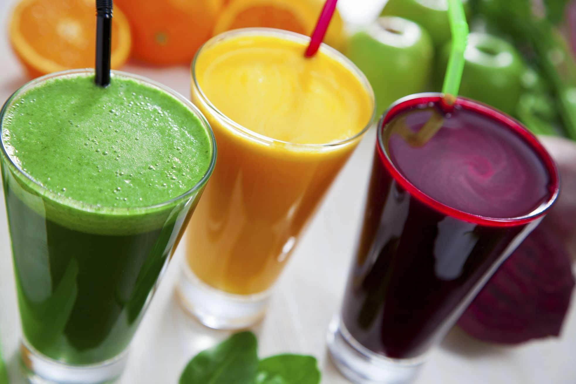 Juice cleanses desert hot springs